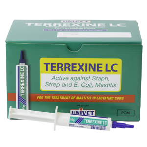 Terrexine LC Intramammary Suspension for lactating cows