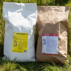 Sulfoprim 21% w/w Premix for medicated feed