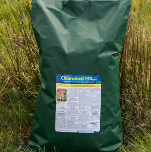 Chloromed 150mg/g medicated Premix for calves