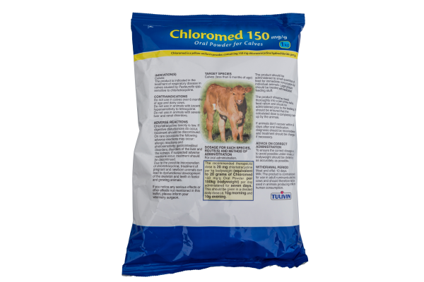 Chloromed 150mg/g Oral Powder for Calves