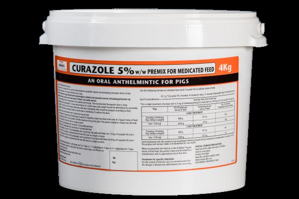 Curazole 5% w/w Premix for Medicated Feed | Univet Veterinary