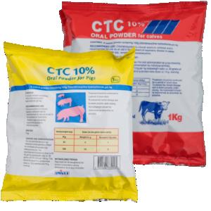 CTC 10% w/w Oral Powder